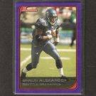 SHAUN ALEXANDER - 2006 Bowman BLUE #3 - Washington Redskins