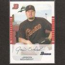 JASON SCHMIDT - 2005 Bowman WHITE #72 - LA Dodgers