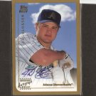 JD CLOSSER - 1999 Topps Traded AUTOGRAPH Rookie