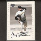 JASON CHRISTIANSEN - 1996 Leaf Signature AUTOGRAPH - Pirates, Cardinals, Giants