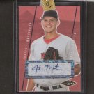 JUSTIN MASTERSON- 2007 Just Minors AUTOGRAPH Rookie - Cleveland Indians