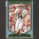 JOHN PARKER WILSON - 2009 Bowman Draft BLUE Rookie - Falcons & Alabama Crimson Tide