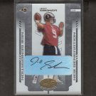JEFF SMOKER - 2004 Leaf Certified Materials AUTOGRAPH Rookie - Rams & Michigan State Spartans