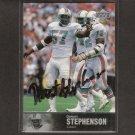 DWIGHT STEPHENSON - 1997 Upper Deck Legends DOLPHINS AUTOGRAPH