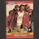 MARTY SCHOTTENHEIMER - Kansas City Chiefs - AUTOGRAPH