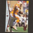 WARREN SAPP - 1995 Upper Deck SP ROOKIE CARD - Buccaneers, Raiders & Miami Hurricanes