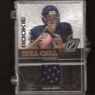 KYLE ORTON - 2005 Zenith Rookie Roll Call JERSEY RC Purdue Boilermakers & Denver Broncos