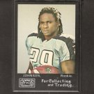 CHRIS JOHNSON 2008 Topps Mayo Rookie Card - NY Jets & East Carolina Pirates