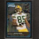 GREG JENNINGS - 2006 Bowman Chrome Rookie - Packers & Western Michigan Broncos