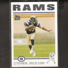 STEVEN JACKSON 2004 Topps ROOKIE CARD - Rams & Oregon State Beavers