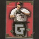 TROY GLAUS - 2003 Sweet Spot Swatches Game-Used JERSEY - St. Louis Cardinals