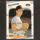 DAVE DRAVECKY- San Francisco Giants - AUTOGRAPH