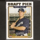 RYAN BRAUN - 2005 Topps Traded ROOKIE - Milwaukee Brewers