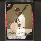 ALFONSO SORIANO - 2005 Bowman Game-Used BAT - Rangers & Cubs