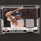 MANNY RAMIREZ - 2008 Topps Game-Worn JERSEY - Red Sox & Dodgers