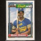 MANNY RAMIREZ - 1992 O-Pee-Chee ROOKIE CARD - LA Dodgers