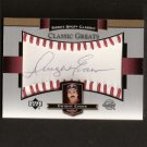 DWIGHT EVANS - 2003 SWEET SPOT Classic - Autograph - Boston Red Sox