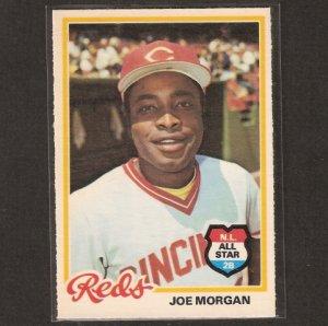 JOE MORGAN - 1978 O-Pee-Chee NMint - Cincinnati Reds, Astros