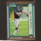CADE McNOWN - 1999 Bowman Chrome Rookie Refractor Chicago Bears & UCLA Bruins