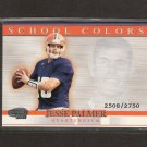 JESSE PALMER - 2001 Pacific Invincible School Colors- NY Giants & Florida Gators