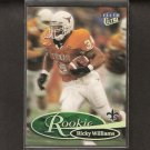 RICKY WILLIAMS - 1999 Fleer Ultra ROOKIE -Saints, Dolphins & Texas Longhorns
