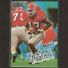 ROBERT EDWARDS - 1998 Fleer Ultra ROOKIE - Patriots & Georgia Bulldogs
