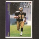 TROY DAVIS - 1997 Topps Short Print ROOKIE - Iowa State & New Orleans Saints