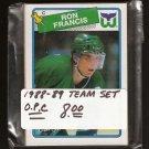 1988-89 Hartford WHALERS Team Set - O-Pee-Chee