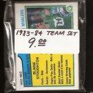1983-84 Hartford WHALERS Team Set - O-Pee-Chee