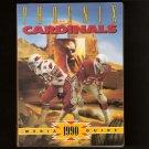 1990 Phoenix - Arizona CARDINALS MEDIA GUIDE