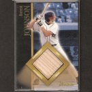 FORREST JOHNSON - 2002 Bowman GAME-USED Bat ROOKIE