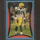 DONALD DRIVER - 2008 Bowman BLUE - Green Bay Packers