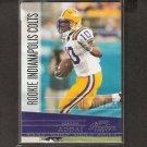 JOSEPH ADDAI - 2006 Playoff Presitge ROOKIE CARD - LSU & Colts