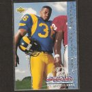 JEROME BETTIS - 1993 Upper Deck ROOKIE - Notre Dame & Steelers