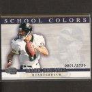 MARK BRUNELL - 2001 Pacific Invincible School Colors - Jaguars & Washington Huskies