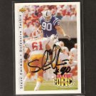 STEVE EMTMAN - Colts & Washington Huskies - AUTOGRAPH ROOKIE