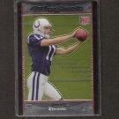 ANTHONY GONZALEZ - 2007 Bowman Chrome ROOKIE - Colts & Ohio State Buckeyes