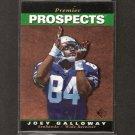 JOEY GALLOWAY - 1995 SP RC - Seahawks, Redskins & Ohio State Buckeyes