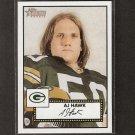 AJ HAWK - 2006 Topps Heritage Short Print ROOKIE - Buckeyes & Packers