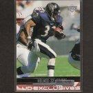 PRIEST HOLMES - 1999 Upper Deck Silver Parallel #31/100 - Baltimore Ravens & Texas Longhorns