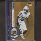 MARVIN HARRISON - 2001 Pacific Invincible - Indianapolis Colts & Syracuse Orangemen