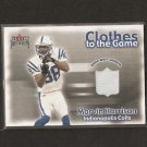 MARVIN HARRISON - 2001 Ultra Game-Worn RELIC - Indianapolis Colts & Syracuse