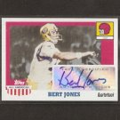 BERT JONES - 2005 Topps All-American Autograph - Baltimore Colts