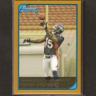 BRANDON MARSHALL - 2006 Bowman Gold RC - NY Jets, Broncos & Central Florida