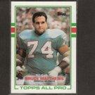 BRUCE MATTHEWS - 1989 Topps RC - Houston Oilers & USC Trojans