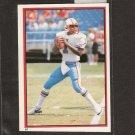 WARREN MOON - 1985 Topps Sticker RC - Houston Oilers & Washington Huskies