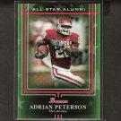 ADRIAN PETERSON - 2009 Bowman Draft All-Star Alumni -  Oklahoma Sooners & Minnesota Vikings