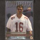 JAKE PLUMMER  - 1997 Scoreboard Playbook Rookie - Arizona Cardinals & Sundevils