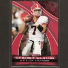 MATTHEW STAFFORD - 2009 Bowman Draft Rookie All-Stars - Detroit Lions & Georgia Bulldogs