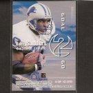 BARRY SANDERS & WARRICK DUNN - 1999 Skybox Dominion Goal 2 Go - Detroit Lions & Oklahoma State